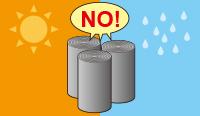 高温・多湿な場所を避け保管してください